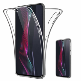 Galaxy A50 360° Full Cover Transparant TPU Hoesje