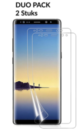 2 STUKS Galaxy Note 8 3D Full Cover Folie Screen Protector