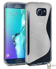 Galaxy S6 Edge S-Line TPU Hoesje Transparant / Kleur
