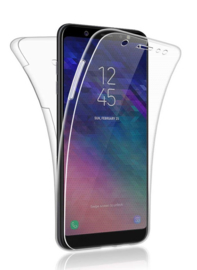 Galaxy A6 (2018) 360° Full Cover Transparant TPU Hoesje
