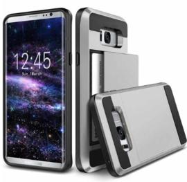 Galaxy S8 Slide Armor Hoesje Met Pashouder