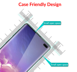 Galaxy S10 Case Friendly 3D Curved Tempered Glass Screen Protector