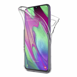Galaxy A40 360° Full Cover Transparant TPU Hoesje