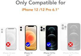 iPhone 12 / 12 Pro 360° Ultra Clear Hybrid PC + TPU Hoesje