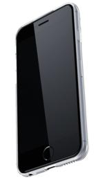 Iphone 6 / 6S Geometrisch TPU Hoesje Marmer Wit / Roze