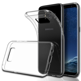 Galaxy S8 Plus Transparant Soft TPU Hoesje
