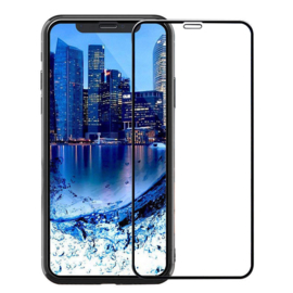 iPhone Xr Full Cover Full Glue Tempered Glass Protector