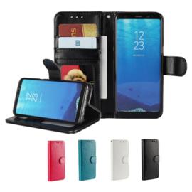 Galaxy S8 Plus Leren Portemonnee Hoesje Met Pasfotovakje