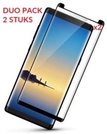 2 STUKS Galaxy Note 8 Case Friendly 3D Tempered Glass Screen Protector