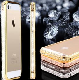 Iphone 5 / 5S / SE Bling Hoesje Met Bergkristallen Strass-Steentjes