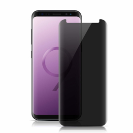 Galaxy S9 Privacy Case Friendly Tempered Glass Screen Protector