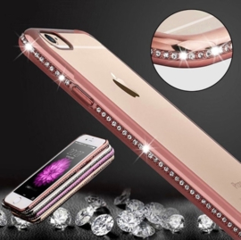 iPhone 6 Plus / 6S+ Bling Hoesje Met Bergkristallen Strass-Steentjes