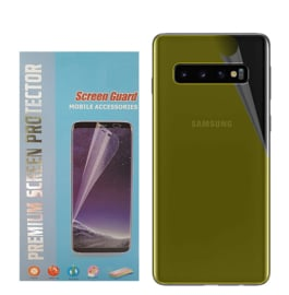 Galaxy S10E Premium 3D Curved Folie Achterkant Protector