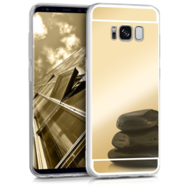 Galaxy S8 Plus TPU Bling Spiegel Hoesje 4 Kleuren