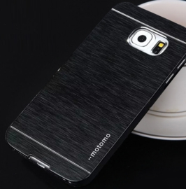 Galaxy S6 Edge Motomo Metal Case