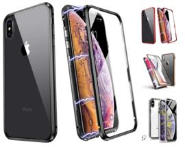 iPhone X / Xs 360º Magnetisch Hoesje Dubbelzijdig Glas