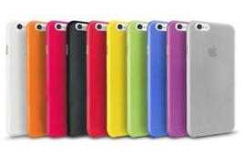 iPhone 6 / 6S Soft Plastic Matte Kleuren Hoesje