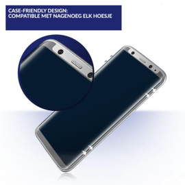 Galaxy S8 Plus Privacy Case Friendly Tempered Glass Screen Protector