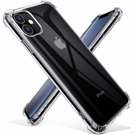 iPhone 11 Transparant Soft TPU Air Cushion Hoesje