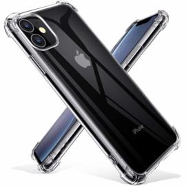 iPhone 11 Transparant Soft TPU Air Cushion Hoesje