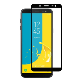 Galaxy J6 (2018) Full Cover Full Glue Tempered Glass Protector