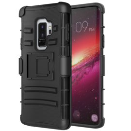 Galaxy S9 Plus Heavy Duty Tough Armor Hoesje 3 in 1