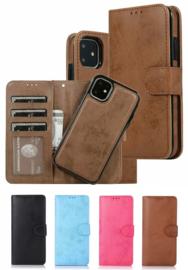 iPhone 12 Pro Max Uitneembaar Magnetisch Bookcase Hoesje
