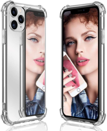 iPhone 11 Pro TPU Air Cushion Spiegel Hoesje 4 Kleuren
