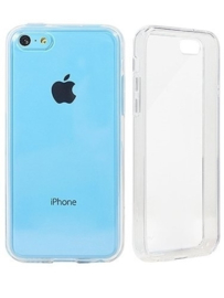 Iphone 5C Soft TPU Hoesje Transparant