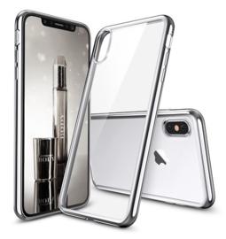 iPhone Xs Max Soft TPU Hoesje Met Coating Goud / Zilver / Zwart
