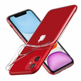 iPhone 11 Premium Soft TPU Hoesje Transparant