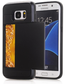 Galaxy S7 Slide Armor Hoesje Met Pashouder