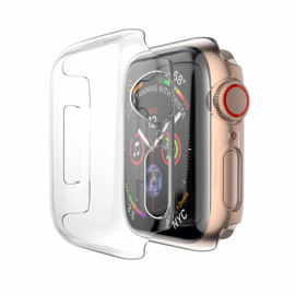 Apple Watch 2/3/4/5/6/SE Transparant Hard PC Hoesje Full Cover