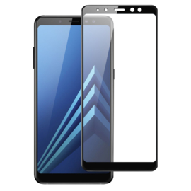 Galaxy A8 (2018) Full Cover Full Glue Tempered Glass Protector