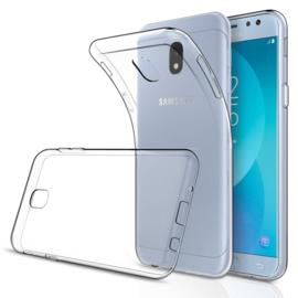 Galaxy J3 (2017) Soft TPU Hoesje Transparant