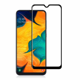 Galaxy A50 Full Cover Full Glue Tempered Glass Protector