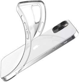 iPhone 12 Pro Max Premium Soft TPU Hoesje Transparant