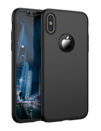 iPhone Xs Max 360° Full Cover Case Hoesje incl. Tempered Glass