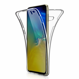 Galaxy S10E 360° Full Cover Transparant TPU Hoesje