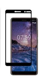 Nokia 7 Plus Full Cover Full Glue Tempered Glass Protector