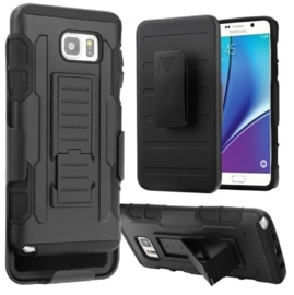 Galaxy S7 Edge Heavy Duty Tough Armor Hoesje 3 in 1