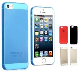 Iphone 5 / 5S / SE Soft Plastic Matte Kleuren Hoesje