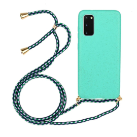 Galaxy Note 20 Ultra Crossbody TPU Hoesje met Koord Mint