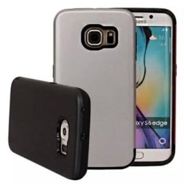 Galaxy S6 Edge Dual Layer Hybrid Armor Hoesje