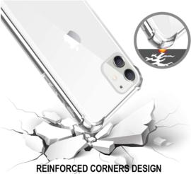 iPhone 12 Mini Transparant Soft TPU Air Cushion Hoesje