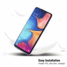 Galaxy A20E Premium Transparant Soft TPU Hoesje