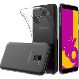 Galaxy J6 (2018) Premium Transparant Soft TPU Hoesje