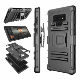 Galaxy Note 9 Heavy Duty Tough Armor Hoesje 3 in 1