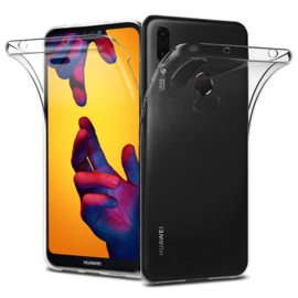 Huawei P20 Lite 360° Full Cover Transparant TPU Hoesje