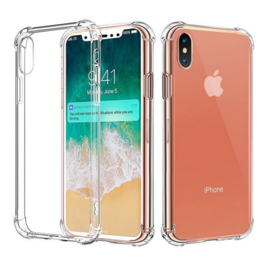 iPhone X / Xs Transparant Soft TPU Air Cushion Hoesje
